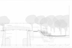 Seccion Constructiva Puente, banco y talud
